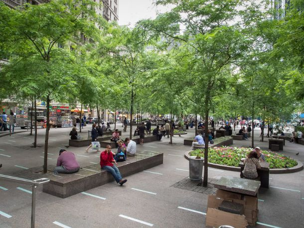 Pops Privately Owned Public Spaces In Nyc New York